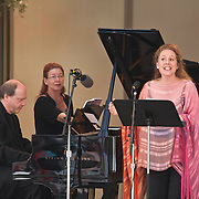 Marc-André Hamelin and Christianne Stotijn perform William Bolcom's Cabaret Songs at the 66th Ojai Music Festival on June 10, 2012 in Ojai, California.