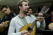 """In Portugal almost every university has a music band. The bands are generally composed by man only or woman only and everybody attending the university can try to enter. In the university of Minho (Braga) the band is called The Tuna and is an only man band. The people that would like to be part of the band are entering as fresh man, after some time their status go up to the level of """"Pyjamas"""" and finally they become part of the band. The upgrade of the band social status depends on the behaviour of the single people, on how they contribute for the well been of the band and on how they react to the bullying done by the members of the band. Been part of the Tuna is not only play is also spend a lot of time with the band bodies. The people of the Tuna prepare their show in their head quarter in Braga."""