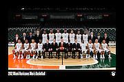 2012 Miami Hurricanes Men's Basketball Team Photo