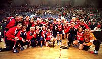 Håndball<br /> VM kvinner 1999 Lillehammer<br /> Foto: imago/Digitalsport<br /> NORWAY ONLY<br /> <br /> 12.12.1999 <br /> Die norwegische Mannschaft ist Weltmeister<br /> Norge v Frankrike