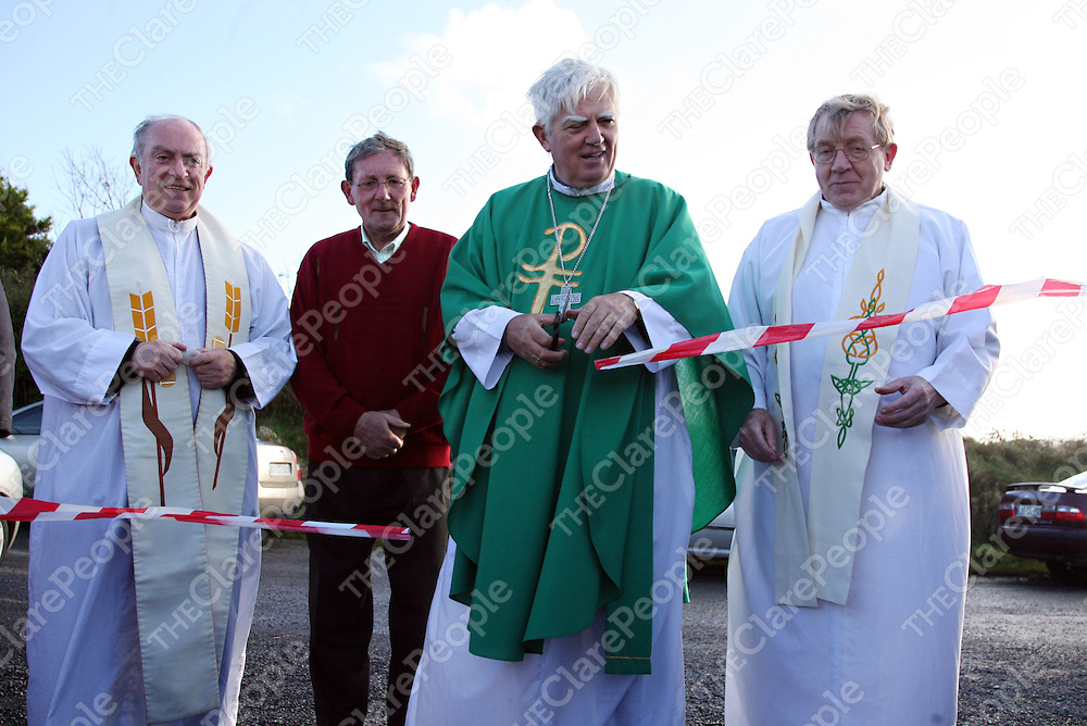 during a mass to bless Kilmaley's new graveyard before the annual Meitheal sponsored walk on Sunday.<br /><br />Photograph by Yvonne Vaughan.