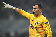 Daniele Padelli of Inter during the Serie A match at Giuseppe Meazza, Milan. Picture date: 9th February 2020. Picture credit should read: Jonathan Moscrop/Sportimage