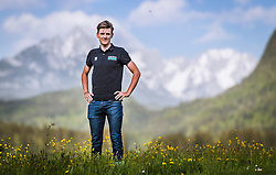 25.04.2018, Bad Häring, AUT, Patrick Konrad im Portrait, im Bild der Österreichische Radfahrer Patrick Konrad während eines Fototermins // the Austrian Cyclist Patrick Konrad during a Photoshooting in Bad Häring, Austria on 2018/04/25. EXPA Pictures © 2018, PhotoCredit: EXPA/ JFK