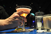 Drinking coctails at a Cocktail lounge Photographed in New York City