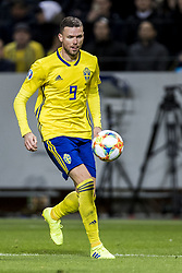 March 23, 2019 - Stockholm, SWEDEN - 190323  Marcus Berg of Sweden during the UEFA Euro Qualifier football match between Sweden and Romania on March 23, 2019 in Stockholm. (Credit Image: © Mathilda Ahlberg/Bildbyran via ZUMA Press)