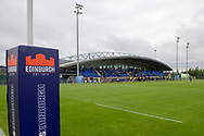 *** during the Rugby Friendly match between Edinburgh Rugby and Bath Rugby at Meggetland Sports Complex, Edinburgh, Scotland on 17 August 2018.