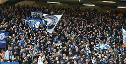 March 6, 2018 - Liverpool, U.S. - 6th March 2018, Anfield, Liverpool, England; UEFA Champions League football, round of 16, 2nd leg, Liverpool versus FC Porto; Porto fans provide boisterous support for their team in the Anfield Road stand (Photo by Dave Blunsden/Actionplus/Icon Sportswire) ****NO AGENTS---NORTH AND SOUTH AMERICA SALES ONLY****NO AGENTS---NORTH AND SOUTH AMERICA SALES ONLY* (Credit Image: © Dave Blunsden/Icon SMI via ZUMA Press)