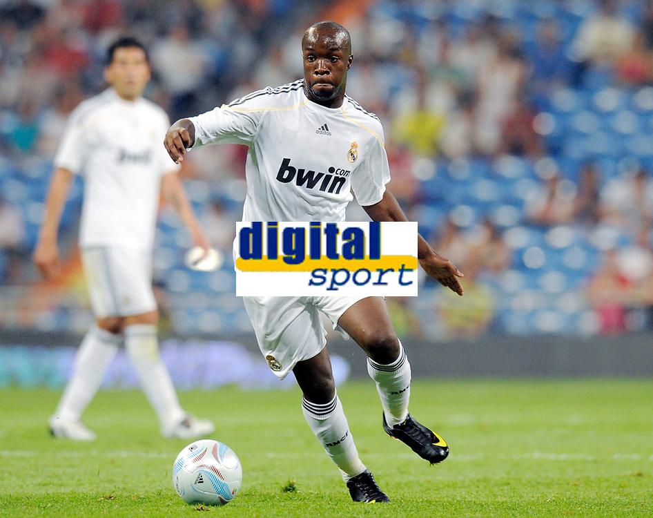Fotball<br /> Frankrike<br /> Foto: DPPI/Digitalsport<br /> NORWAY ONLY<br /> <br /> FOOTBALL - PEACE CUP 2009 - REAL MADRID v AL ITTIHAD - 26/07/2009 <br /> <br /> LASSANA DIARRA (REAL)