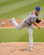 CHICAGO - JULY 30:  Noah Syndergaard #34 of the New York Mets pitches against the Chicago White Sox on July 30, 2019 at Guaranteed Rate Field in Chicago, Illinois.  (Photo by Ron Vesely)  Subject:   Noah Syndergaard