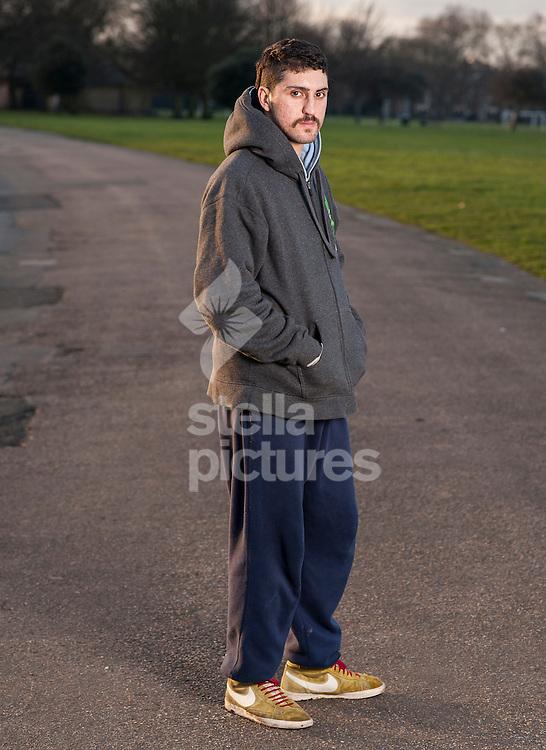 Picture by Daniel Hambury/Stella Pictures Ltd +44 7813 022858<br /> 21/01/2014<br /> Bitcoin developer Amir Taaki pictured in Victoria Park, London.