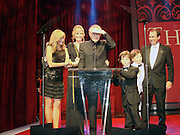 Host Leeza Gibbons, Larry King and wife Shawn Southwick King with thier two sons and Larry King Jr..Larry King's 75th Birthday Party and 20th Anniversary of Larry King Cardiac Foundation in partnership with COPE Health Solutions..Grand Ballroom at Hollywood and Highland..Hollywood, CA, USA..Saturday, November 15, 2008..Photo By Selma Fonseca/Celebrityvibe.com.To license this image please call (212) 410 5354; or Email: celebrityvibe@gmail.com ;.website: www.celebrityvibe.com