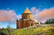10th century Armenian Orthodox Cathedral of the Holy Cross on Akdamar Island, Lake Van Turkey 48 .<br /> <br /> If you prefer to buy from our ALAMY PHOTO LIBRARY  Collection visit : https://www.alamy.com/portfolio/paul-williams-funkystock/lakevanturkey.html<br /> <br /> Visit our TURKEY PHOTO COLLECTIONS for more photos to download or buy as wall art prints https://funkystock.photoshelter.com/gallery-collection/3f-Pictures-of-Turkey-Turkey-Photos-Images-Fotos/C0000U.hJWkZxAbg