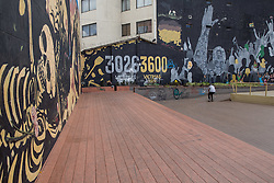 Graffitis und Street Art in Bogota / 230916<br />