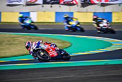May 19, 2018 - Le Mans, Sarthe, France - 9 DANILO PETRUCCI (ITA) ALMA PRAMAC RACING (ITA) DUCATI DESMOCEDICI GP18 (Credit Image: © Panoramic via ZUMA Press)