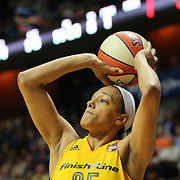 UNCASVILLE, CONNECTICUT- JUNE 5:   Marissa Coleman #25 of the Indiana Fever shoots during the Indiana Fever Vs Connecticut Sun, WNBA regular season game at Mohegan Sun Arena on June 3, 2016 in Uncasville, Connecticut. (Photo by Tim Clayton/Corbis via Getty Images)