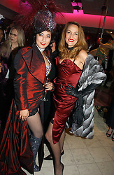 Left to right, PATTI WONG and JERRY HALL at Andy & Patti Wong's annual Chinese New year Party, this year to celebrate the Year of The Pig, held at Madame Tussauds, Marylebone Road, London on 27th January 2007.<br /><br />NON EXCLUSIVE - WORLD RIGHTS