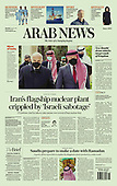 April 12, 2021 - ASIA-PACIFIC: Front-page: Today's Newspapers In Asia-Pacific