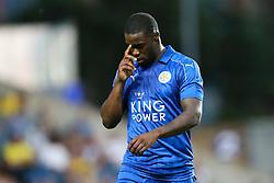 Goal, Jeffrey Schlupp of Leicester City scores, Oxford United1-2 Leicester City - Mandatory byline: Jason Brown/JMP - 19/07/2016 - FOOTBALL - Oxford, Kassam Stadium - Oxford United v Leicester City - Pre Season Friendly