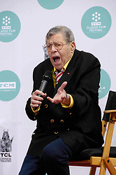 Jerry Lewis at a hand and footprint ceremony.<br />(Los Angeles, CA)