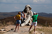 Conceicao do Mato Dentro_MG, Brasil.<br /> <br /> Estatua do Juquinha no Parque Nacional Serra do Cipo em Conceicao do Mato Dentro, Minas Gerais.<br /> <br /> The Juquinha statue at Serra do Cipo National Park in Conceicao do Mato Dentro, Minas Gerais.<br /> <br /> Foto: LEO DRUMOND / NITRO