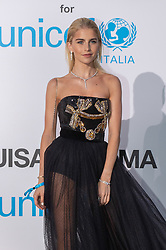 Caroline Daur arriving at a photocall for the Unicef Summer Gala Presented by Luisaviaroma at Villa Violina on August 10, 2018 in Porto Cervo, Italy. Photo by Alessandro Tocco/ABACAPRESS.COM