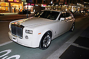 Kimora Lee Simmons' Rolls Royce Phantom waits for her at The 2009 Fall Baby Phat Fashion Show held at Gotham Hall on February 17, 2009 in New York City.