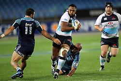 Sekope Kepu. Investec Super Rugby - Blues v Waratahs, Eden Park, Auckland, New Zealand. Saturday 16 April 2011. Photo: Clay Cross / photosport.co.nz