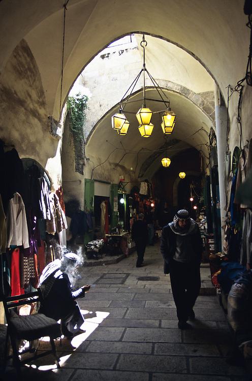 A marketplace in Jerusalem.