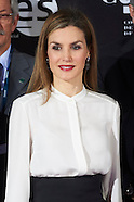 011215 Queen Letizia attends the delivery of Telefonica Ability Awards