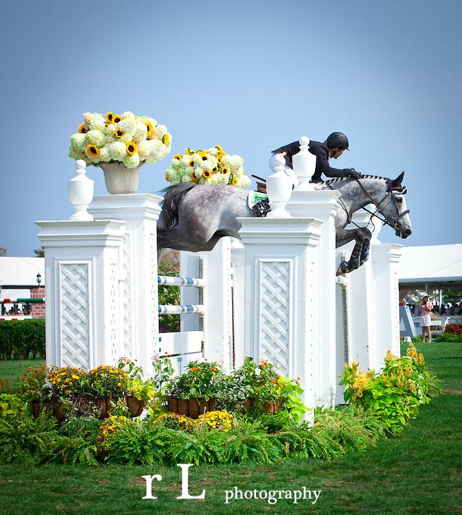 Top Equestrian Sport Horses at Hampton Classic Grand Prix 2011
