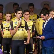 NLD/Veghel/20181221 - Presentatie van Team Jumbo, Wout van Aert