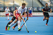 England's Harry Martin. England v The Netherlands - Semi Final - Hockey World League Semi Final, Lee Valley Hockey and Tennis Centre, London, United Kingdom on 24 June 2017. Photo: Simon Parker