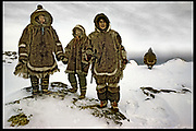 Inuit hunting party, Baffin Island, Canada - MARIE CLAIRE