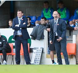 Kilmarock's manager Allan Johnston.<br /> St Johnstone 1 v 2 Kilmarock, SPL game played at McDrarmid Park.