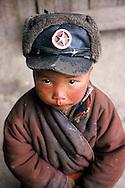 Tibetan boy in Kham provence.