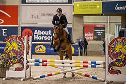 Mendoca Roberto, BRA, Robijn van T&L<br /> Pavo Hengsten competitie - Oudsbergen 2021<br /> © Hippo Foto - Dirk Caremans<br />  22/02/2021
