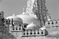 India, Bikaner, 1999. Built from stone quarried from hundreds of miles away, the builders of this elaborate Jain temple labored under withering drought conditions for several years.