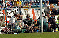 Photo: Kevin Poolman.<br />Wycombe Wanderers v Hartlepool United. Coca Cola League 2. 14/04/2007. Lewis Christon of Wycombe gets treatment at the side of the pitch.