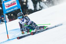 Alice Robinson (NZL) during Ladies' Giant Slalom at 57th Golden Fox event at Audi FIS Ski World Cup 2020/21, on January 17, 2021 in Podkoren, Kranjska Gora, Slovenia. Photo by Vid Ponikvar / Sportida