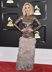 Celebrities arrive on the red carpet for the 59th Grammy Awards held at the Staples Centre in downtown Los Angeles, California. 12 Feb 2017 Pictured: Katy Perry. Photo credit: Bauergriffin.com / MEGA TheMegaAgency.com +1 888 505 6342