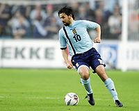 Fotball / Football<br /> World Cup Qualification<br /> 07.09.2005<br /> Oslo, Norway<br /> Norway v Scotland<br /> Norge v Skottland<br /> Photo: Morten Olsen, Digitalsport<br /> <br /> Paul Hartley (SCO)