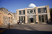 Israel, Tiberias, The tomb and synagogue of Rabbi Meir Bal Ha-Ness. The name, Bal Ha-Ness, added to Rebbe Meir, simply means the master of miracles. Miracles were attributed to him