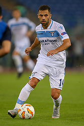 September 20, 2018 - Rome, Lazio, Italy - 20th September 2018, Stadio Olimpico, Rome, Italy; UEFA Europa League football, Lazio versus Apollon Limassol; Riza Durmisi of Lazio controls  the ball  Credit: Giampiero Sposito/Pacific Press (Credit Image: © Giampiero Sposito/Pacific Press via ZUMA Wire)