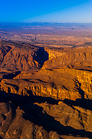 Aerial view, Big Bend National Park, Texas USA.