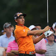 Rickie Fowler, USA,  in action during the fourth round of theThe Barclays Golf Tournament at The Ridgewood Country Club, Paramus, New Jersey, USA. 24th August 2014. Photo Tim Clayton