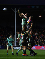 Rugby Union - 2019 / 2020 Gallagher Premiership - Harlequins vs. Gloucester<br /> <br /> Gloucester's Franco Mostert claims the lineout, at The Stoop.<br /> <br /> COLORSPORT/ASHLEY WESTERN