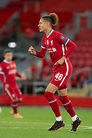 Football - 2020 / 2021 Champions League - Group D - Liverpool vs FC Midtjylland - Anfield<br /> <br /> Liverpool's Rhys Williams<br /> <br /> COLORSPORT/TERRY DONNELLY