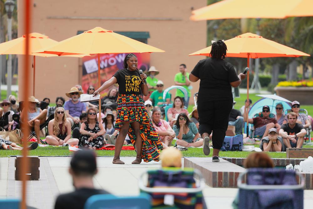 La Jolla Playhouse's WOW at Liberty Station on Center on Saturday, August 15, 2021.(Photo by Sandy Huffaker/La Jolla Playhouse)