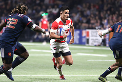 November 25, 2017 - Paris, France - Yu Tamura in action during the International test match between France and Japan at U Arena. (Credit Image: © Nicolas Briquet/SOPA via ZUMA Wire)
