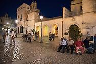 Evening at Piazza Vittorio Veneto